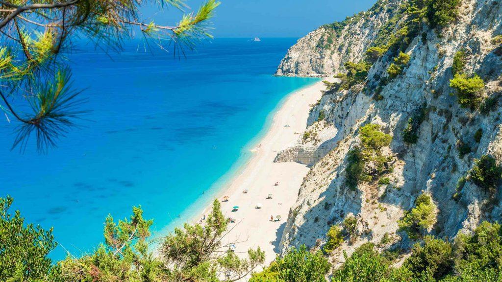 Egremni beach, Lefkada island, Greece